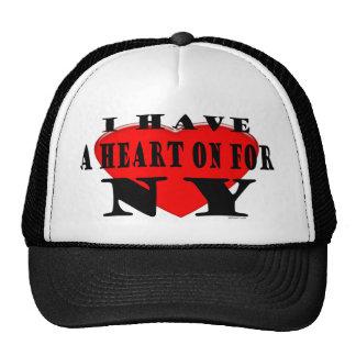 Heart On NY Hat