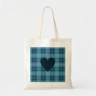 Heart on Plaid Blues