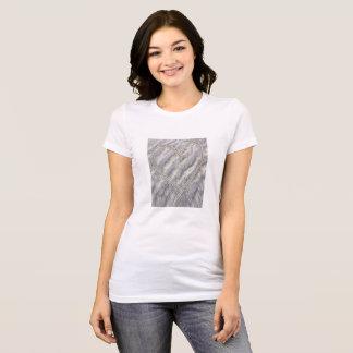 Heart on the beach cute happy loveable T-Shirt