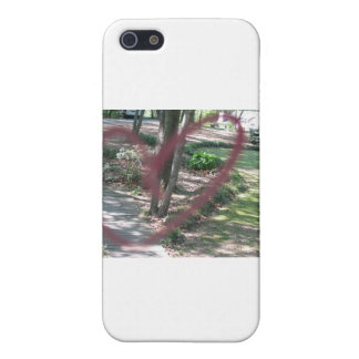 Heart on the door covers for iPhone 5