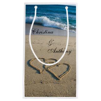 Heart on the Shore Beach Wedding Favor Bag