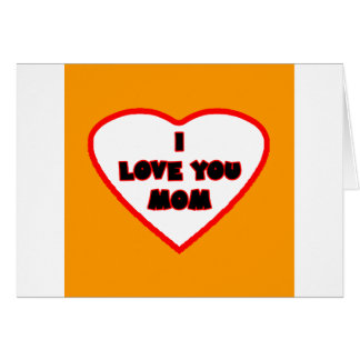 Heart Orange Transp Filled The MUSEUM Zazzle Gifts Greeting Card