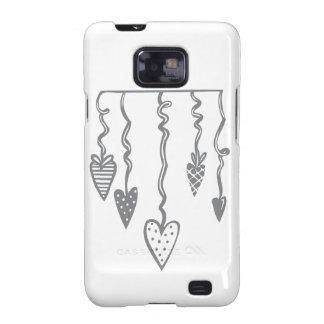 Heart Ornament Galaxy S2 Cover