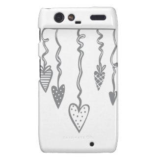 Heart Ornament Droid RAZR Case
