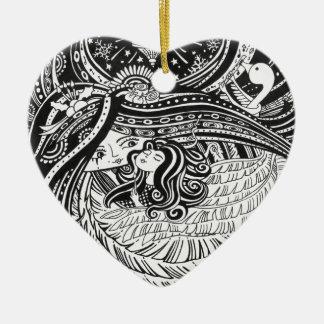 Heart Ornament LITTLE MATCH GIRL