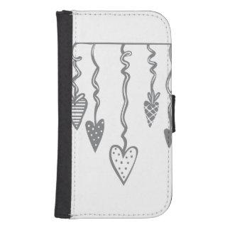 Heart Ornament Phone Wallets