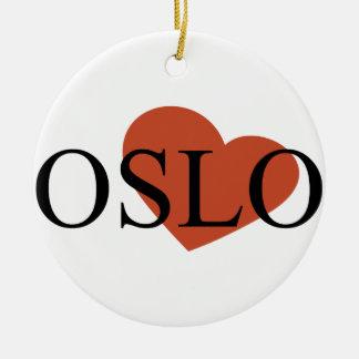 Heart Oslo Christmas Ornament