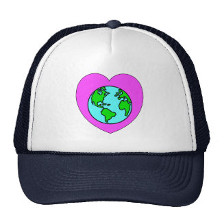 Heart Our Planet Trucker Hat
