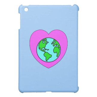 Heart Our Planet iPad Mini Covers