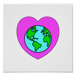Heart Our Planet Posters