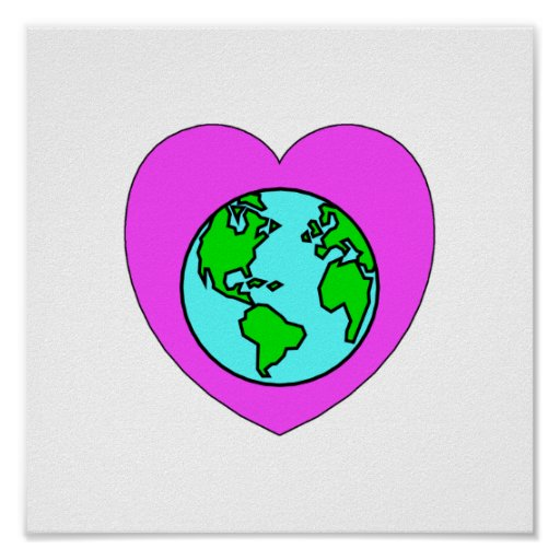 Heart Our Planet Print