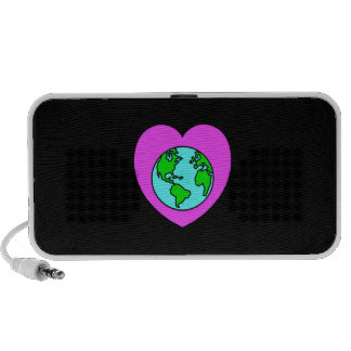 Heart Our Planet Mini Speakers