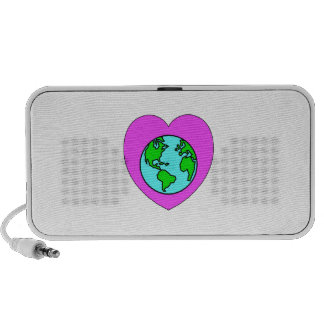 Heart Our Planet Mp3 Speaker