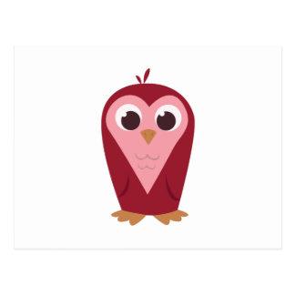 Heart Owl Postcard