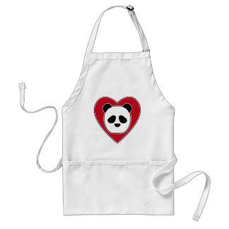 Heart Panda Standard Apron
