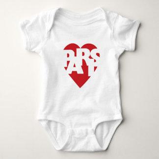 Heart Paris Baby Bodysuit