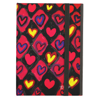 Heart path cover for iPad air