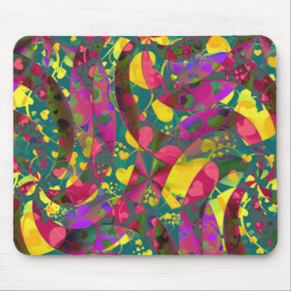 HEART pattern ART 12 Mouse Pad