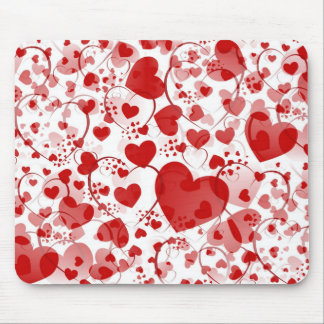 HEART pattern ART 7 Mouse Pad