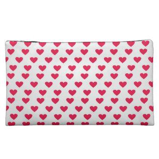 Heart Pattern Cosmetics Bags