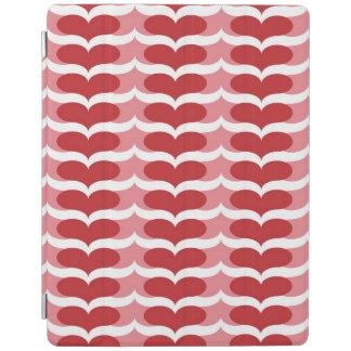 Heart pattern iPad cover
