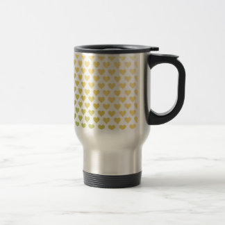 Heart Pattern - Lemon Lime Citrus Gradient Mug