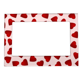 Heart Pattern Magnetic Frame