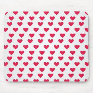 Heart Pattern Mousepad