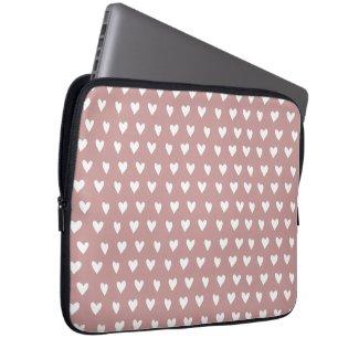 Heart pattern Laptop Sleeve