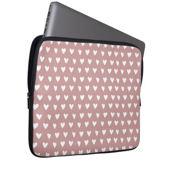 Heart pattern Neoprene Laptop Sleeve 13 inch