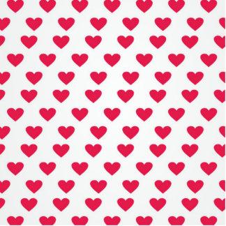Heart Pattern Acrylic Cut Outs