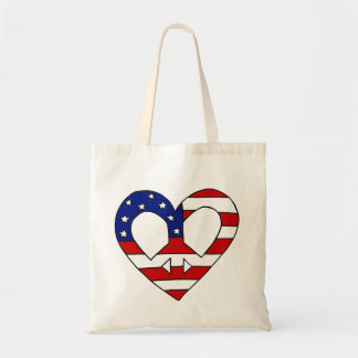 Heart Peace USA Flag Elections
