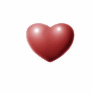 Heart Photo Sculpture Key Ring