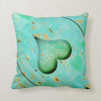 "Heart Polyester Throw Pillow 16"" x 16"" Cushions"