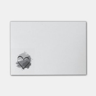 Heart Post-it Notes