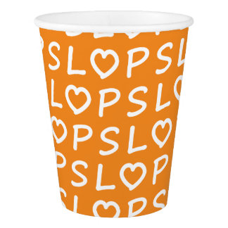 Heart PSL Paper Cup