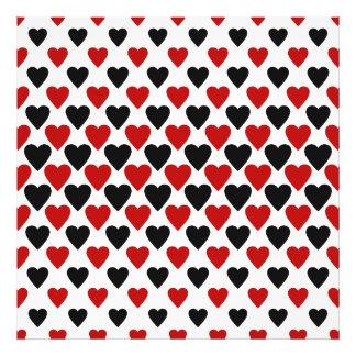 Heart queens design pattern art photo