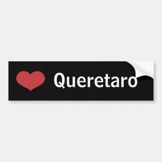 Heart Queretaro Car Bumper Sticker