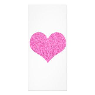 HEART CUSTOM RACK CARD