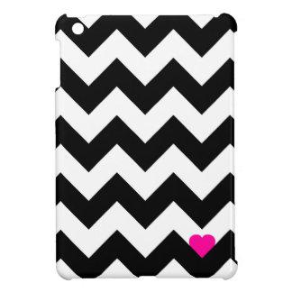 Heart & Rafter - Black/Rose iPad Mini Cases