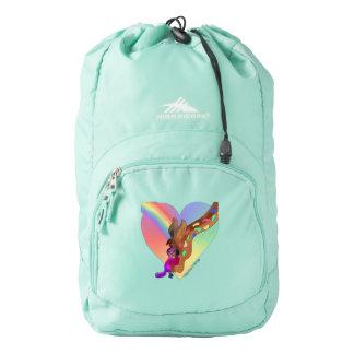 Heart Rainbow & Lila by The Happy Juul Company Backpack