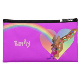 Heart Rainbow & Lila by The Happy Juul Company Cosmetics Bags