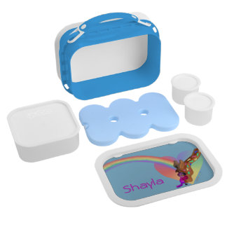 Heart Rainbow & Lila by The Happy Juul Company Lunch Box