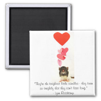 Heart Rat Magnet