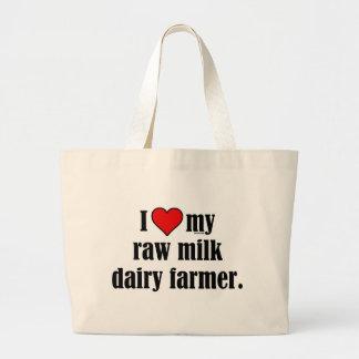 Heart Raw Milk Farmer Bag