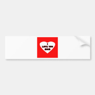 Heart Red Transp Filled The MUSEUM Zazzle Gifts Bumper Sticker