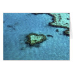 Heart Reef - Australia Greeting Card