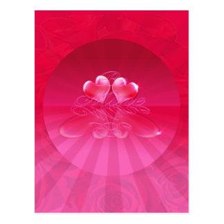 HEART REFLECTIONS & LIGHT RAYS by SHARON SHARPE Postcard