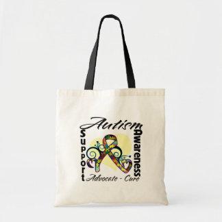 Heart Ribbon - Autism Awareness Bag