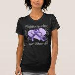 Heart Ribbon - Hodgkins Lymphoma Awareness T Shirt